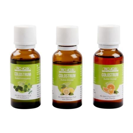 Pro Aqua Vonné esence s COLOSTREM citrón pomeranč eukalypt